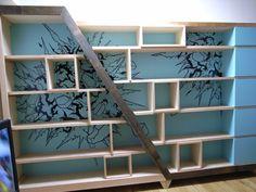 Awesome book shelf