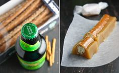 Beer Flavored Chewy Caramel By Heather @ Sprinkle Bakes