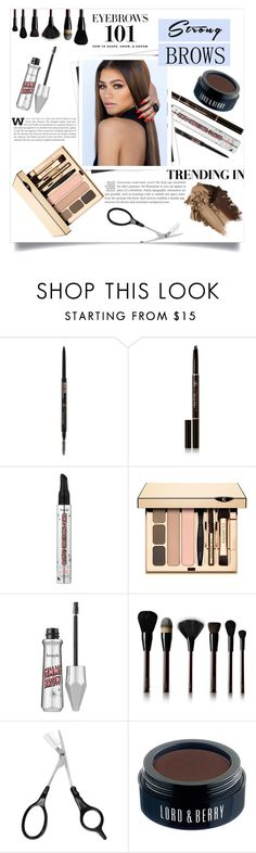 """Strong Brows"" by jaylynn-281 ❤ liked on Polyvore featuring beauty, Anastasia Beverly Hills, Benefit, GALA, Clarins, Kevyn Aucoin, Sephora Collection, Lord & Berry, BeautyTrend and strongbrows"