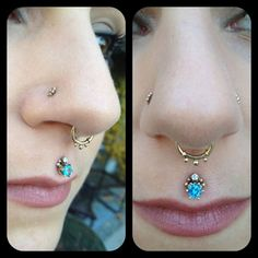 Association of Professional Piercers: Such great photos of this beautiful set of jewelry! These piercings were performed by APP member Jesse Villemaire at Thrive Studios in Cabridge, Ontario!