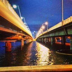 Under the sundale bridge