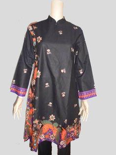Baju Batik Tunik Depan [1165]
