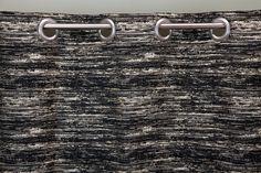 Cortinado Stella Natural e Preto 140 x 250 cm   A Loja do Gato Preto   #alojadogatopreto   #shoponline   referência 48366547
