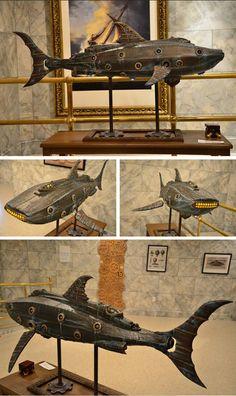 JULES VERNE,LA ASTRONOMIA Y LA LITERATURA: Steampunk Nautilus by Doctor Grymm