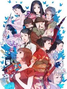 Tribute to Satoshi Kon. Some of the most mind twisting animes I've ever seen.