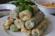 Beautiful, Fresh salad, noodles, prawns, chicken or beef wrapped in rice paper with dipping sauce. A must for healthy eaters and food lovers. Easy to make suitable for lunches, party entrees/appetisers, kids and vegetarians.