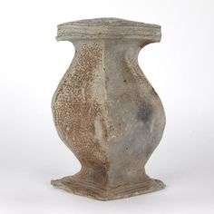 Grey Tunnel Kiln Wood Fired Vase, 1980s