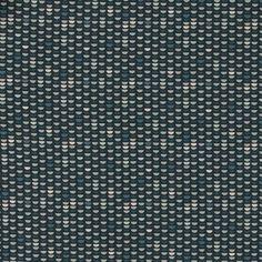 Baumwolle, Dunkelblau mit blau/grauen Ha