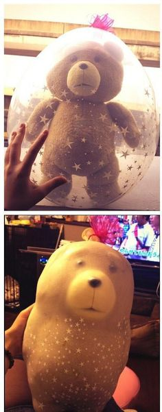 This bubble bear tragedy: | 26 Pictures That Will Make You Have To Laugh To Keep From Crying