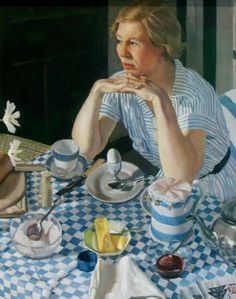 'Breakfast piece' (detail), 1936 - Herbert Badham