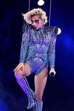 Lady Gaga Set Super Bowl LI On Fire in Versace   Tom + Lorenzo