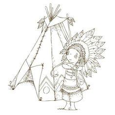 Cahier de coloriage Cap Canaille Eliott l'indien - 80 pages - Photo n°3