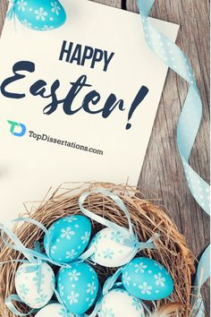 May your Easter basket be full of Joy, Happiness and Peace Today and Always! #topdissertations #Easter #holidays