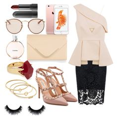 """"" by swerahasan ❤ liked on Polyvore featuring beauty, Valentino, Quiz, C/MEO COLLECTIVE, Accessorize, Ray-Ban, Lola Rose, Wanderlust + Co and Madewell"