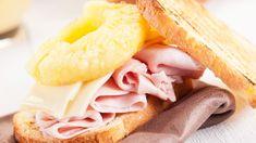 Toast Hawaii für den Sandwichmaker