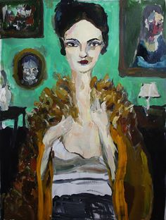 Painting by Bradley Wood