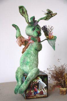 Pattern Teddy rabbit 27 cm. 10.62 inchs/ Artist by NatashaMurasha