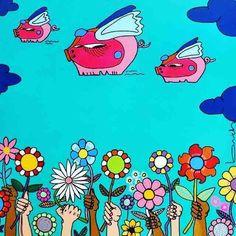 Feliz Primavera  #primavera #spring #felizprimavera  #art #arte #artwork ##artist #flores #flowers