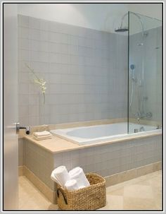 bathroom shower tub combo with tile bench google search remodel