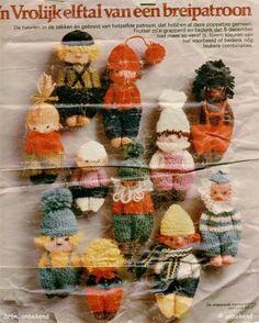 Eenvoudige poppetjes breien (incl. breipatroon) - Fimo- en ander creatief gefröbel
