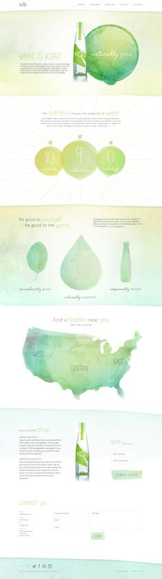 Love this! Really cool watercolor looking effect and nice layout
