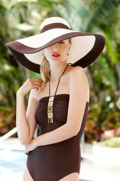 floppy wide brim hat 5 Hat Styles to Go with Your Spring Outfits Shop accessories for women at Urban Estilo Resort, Floppy Hats, Stylish Hats, Fancy Hats, Wide-brim Hat, Love Hat, Summer Hats, Derby Hats, Look Chic