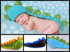 $16.99 Baby Dinosaur Photo Prop, Baby Boy Photography Prop, Baby Shower Gift, Crochet Little Boy Picture Ideas, Dinosaur Costume, Infant Pictures, Newborn Picture Ideas