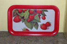 Vintage StrawBerry Tray - I have a couple of these!
