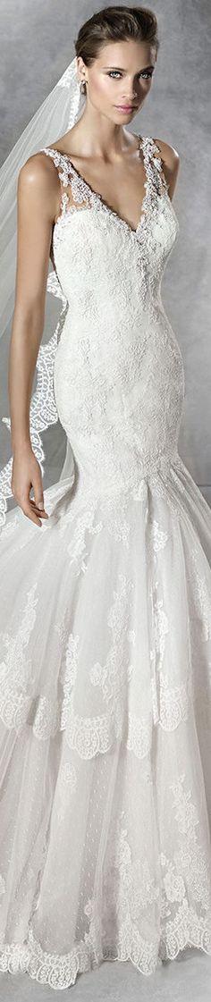 PRONOVIAS BRIDAL GOWNS 2016 PHOEBE WEDDING DRESS