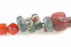 Viking age Beads from Stora Ryk, Sweden.