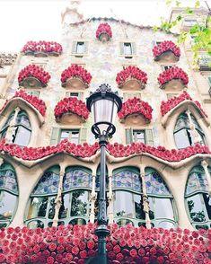 Casa Batlló - Barcelona Dia de Sant Jordi #barcelonaphotos