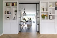 A fantastic continue reading more concerning french doors modern Living Room Interior, Home Living Room, Living Room Designs, French Doors Bedroom, Farmhouse Buffet, Living Room Partition, Florence Knoll, Lounge Chair, Design Studio