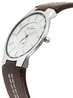 I love Skagen watches! And look how slim it is - just gorgeous! And a bargain at only $56 #watch #skagen