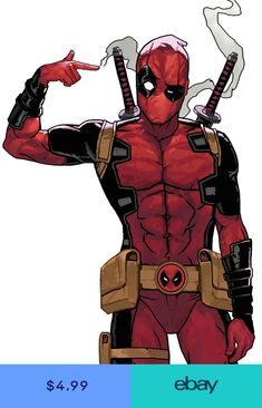 """Deadpool: Did my finger just fire?"""" Deadpool's voice in his head: Should we call somebody?""""] (""""HELP SOMEBODY!"""") Deadpool: That is kind of awesome"""" Me: HOW! I want that power! Comic Book Characters, Comic Character, Comic Books Art, Comic Art, Hq Marvel, Marvel Dc Comics, Marvel Heroes, Marvel Fan Art, Marvel Movies"""