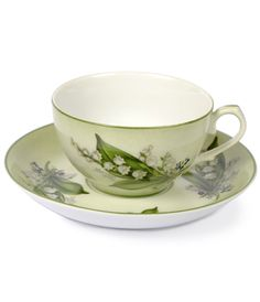 Lily of the Valley Cup and Saucer from Joanna Wood Shop | www.joannawood.co.uk #mothersday #gits #teacup