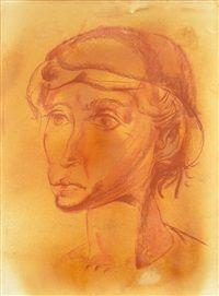 Retrato femenino by Lino Eneas Spilimbergo