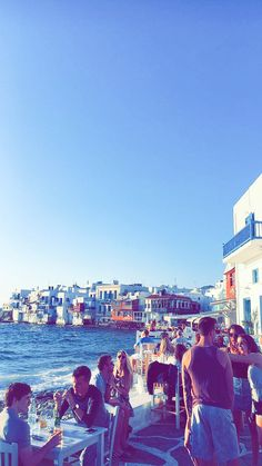 """Restaurant """"Hippie Fish"""" auf Mykonos, Griechenland © Christoph Bugram / Restplatzbörse Hotels, Strand, Dolores Park, Restaurant, Travel, Mykonos Greece, Travel Advice, Vacation, Viajes"""
