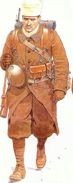 Algerian tiralleurs 1940, pin by Paolo Marzioli