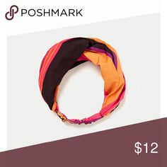 Zara headband Multicolored striped headband Zara Accessories Hair Accessories