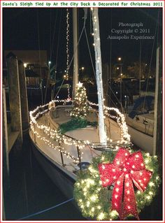 A photo show of scenes in Annapolis Maryland during the Christmas 2011 holiday season. Photographs taken in December 2011. To see a full size version of these photographs, as well as the accompanying Annapolis Experience Blog article, please click through on the Pinterest images for them. Copyright © 2012 Annapolis Experience