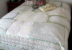 Doily quilt