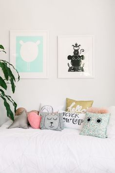 cojines para niños / kids rooms pillow combo                                                                                                                                                                                 More