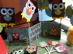 Hooty Owl Party Mask by kreativekelors on Etsy