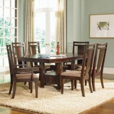 Broyhill Northern Lights Dining Set with the chairs