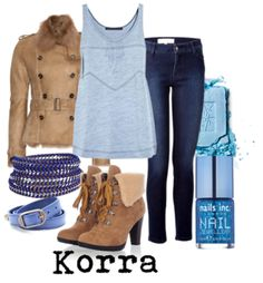 fashion inspired by avatar the last airbender | Avatar Korra from Avatar: The Legend of Korra