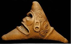 Cemi - The Cemi stone, with its three cardinal points, is a fundamental symbol in the Taino religion.