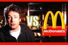 Jamie Oliver, a castigat un procesul impotriva cele mai mari retele de fast-food din lume Jamie Oliver, Mcdonalds, Hamburgers, Regatul Unit, Romania, Places, Restaurant, Advice, Kitchens