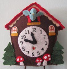 felt cuckoo clocks - Recherche Google