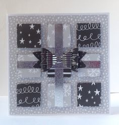 Card designed by Julie Hickey using Craftwork Cards Noir De Luxe collection.