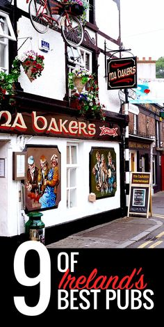 On these windy, winter days, we can't wait to escape the cold in one of Ireland's many welcoming traditional pubs!  Image © Marie Eve Vallieres